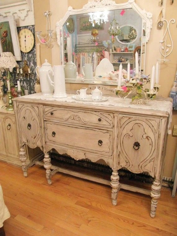Vintage Sideboards And Buffets Outstanding Antique White Buffet Server Dining Room Interior Design