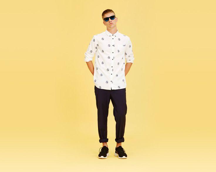 #libertinelibertine #shirt #pants #menswear  http://www.urbag.cz/panske-obleceni-libertine-libertine-jaro-leto-2014/