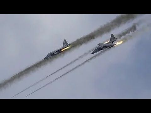 17.11.2015 Massive Russian airstrike on IS objects in Syria