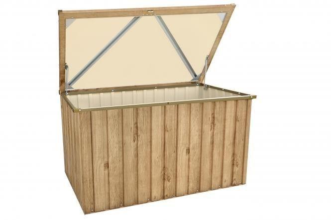 Duramax, Metall-Gerätebox 135x70 Holz-Dekor Eiche Jetzt bestellen unter: https://moebel.ladendirekt.de/garten/gartenmoebel/aufbewahrung/?uid=be73e0e6-5221-5efc-b64c-d8033470b971&utm_source=pinterest&utm_medium=pin&utm_campaign=boards #baumarkt #gewächshäuser #aufbewahrung #garten #gartenhäuser #gartenmoebel