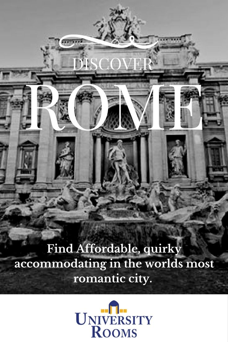 Explore the world's most romantic city, rome. Stay with University rooms.  #rome #romantic #love #valentines #couples #visitrome #affordable #cheap #hotel #romehotel #italy #italian #romance