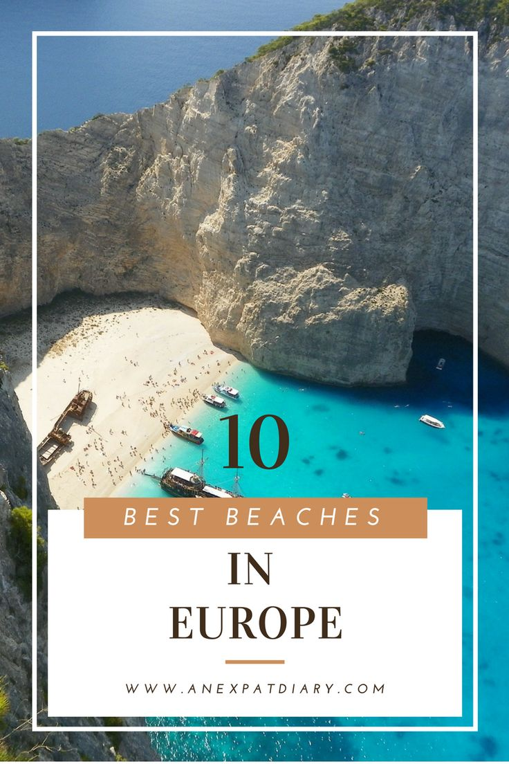 10 Best Beaches in Europe  #travel #beautifulbeaches  www.anexpatdiary.com