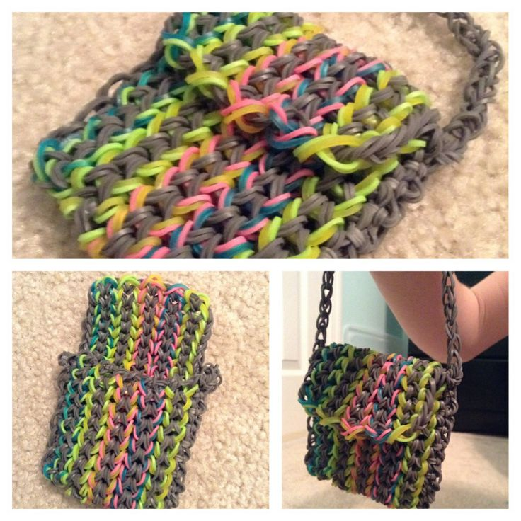 RainbowsRainbow Loom Mini Purse Craft Life