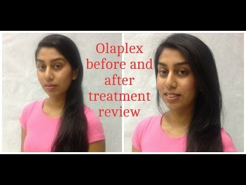 Olaplex hair treatment review - before and after