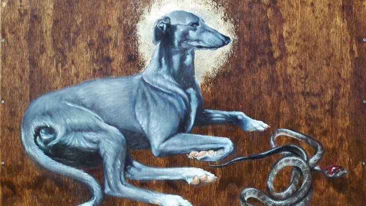 San Guinefort quizás sea uno de los santos más sorprendentes del cristianismo. Este santo único del siglo XIII ni siquiera era un ser humano, sino un galgo. Tras haber protegido valientemente a un bebé en un episodio que acabó con la muerte del animal, y por los rumores de milagros acaecidos en su l