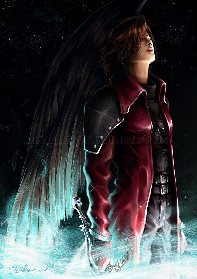 Final fantasy VII: Crisis Core - Genesis Rhapsodos by ~MathiaArkoniel on deviantART