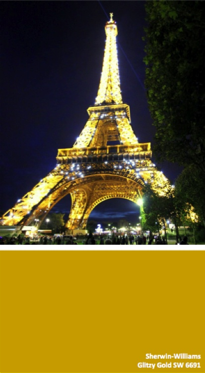 Sherwin-Williams Glitzy Gold SW 6691 #globalcolor | A ...