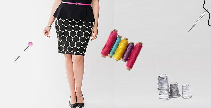 Tuto couture : la jupe crayon  taille xxl   +++                              …