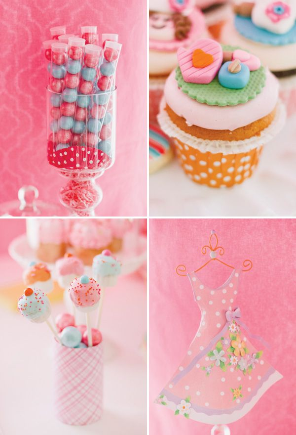 Cute as a Cupcake Baking Themed Party