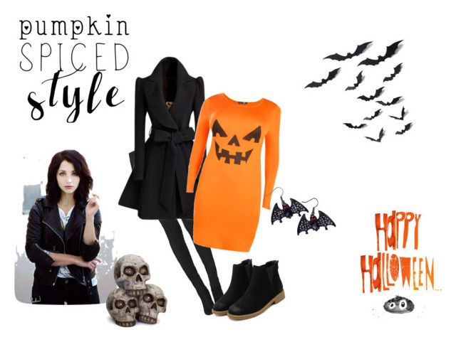 """""""Tiffany halloween outfit"""" by lana-redway on Polyvore featuring Tamara Mellon and Boohoo"""
