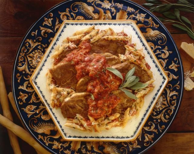 Crockpot Italian Pork Chops is a simple and delicious slow cooker entree recipe that combines the flavors of pizza and spaghetti.