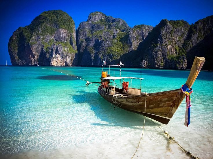 Phi Phi Islands - With soaring cliffs, powdery sands and crystal-clear waters, it's no wonder Thailand declared the Phi Phi Islands a National Park, Hat Noppharat Thara-Mu Ko Phi Phi. Don your swimsuit, hop aboard a local speedboat and head for these tropical treasures of the Andaman Sea. Your adventure starts early with a transfer from the ship to Phuket Marina.