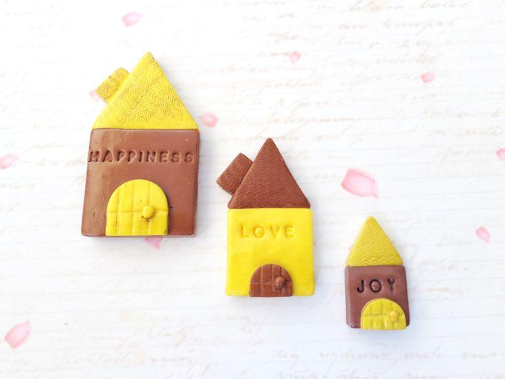 Fridge Magnet Set, Rustic Kitchen Decor, Refrigerator Magnets, Handmade Magnets, Office Decor, Housewarming Gift, Magnets, Fridge Magnets by FairyDustHC on Etsy