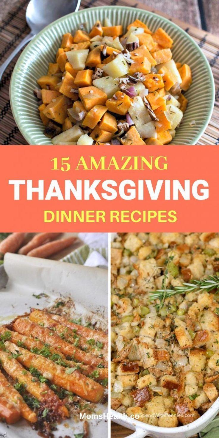 15 Thanksgiving Dinner Recipes on Pinterest Basic