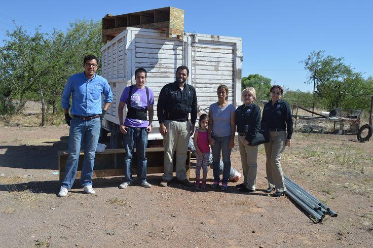 En el marco del programa permanente de Gallineros Familiares, la presidenta del Desarrollo Integral de la Familia (DIF) municipal, Cecilia Herrera Madrid...