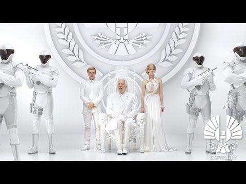 The second teaser for The Hunger Games: Mockingjay — Part 1 , released on Wednesday, is another speech from President Snow (Donald Sutherland) to the citizens of Panem. THIS IS AMAZING!!!