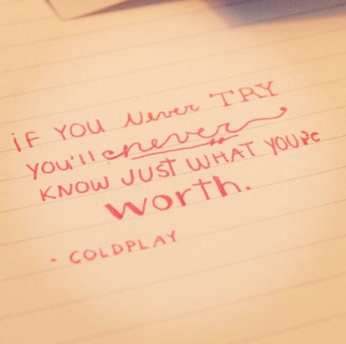 coldplay lyric tattoos - Google Search