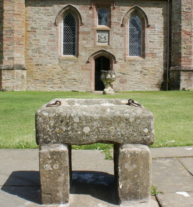 Photograph Stone Of Destiny Scotland, or The Stone of Scone, on this stone the Kings and Queens of Scotland would be crowned