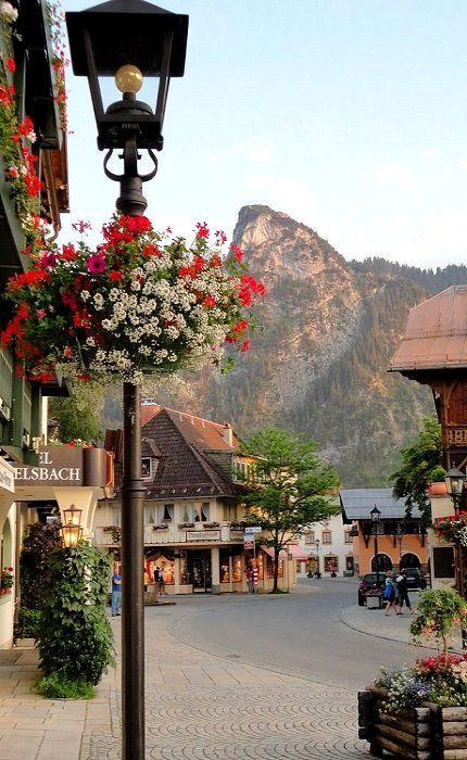Oberammergau, Germany This is where Grandma Dougherty and I saw the Passion Play which they do outside every 10 years!! Beautiful city