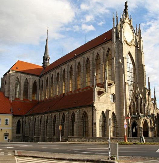 Sedlec - cathedral of The Ascension of Holy Virgin Mary with famous ossuary (Central Bohemia), Czechia