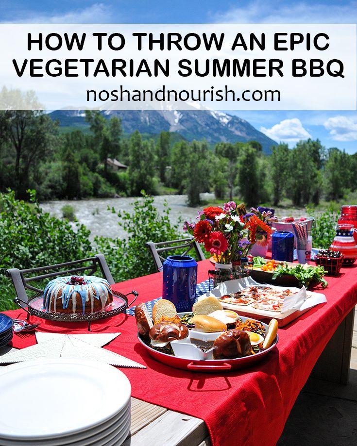 vegetarian barbecue   easy vegetarian recipes   vegetarian grilling   summer bbq