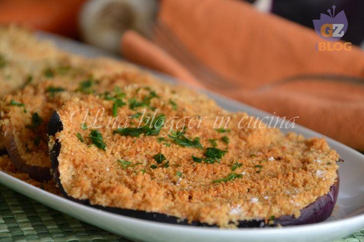 Melanzane impanate al forno, una ricetta semplice per un contorno delizioso.