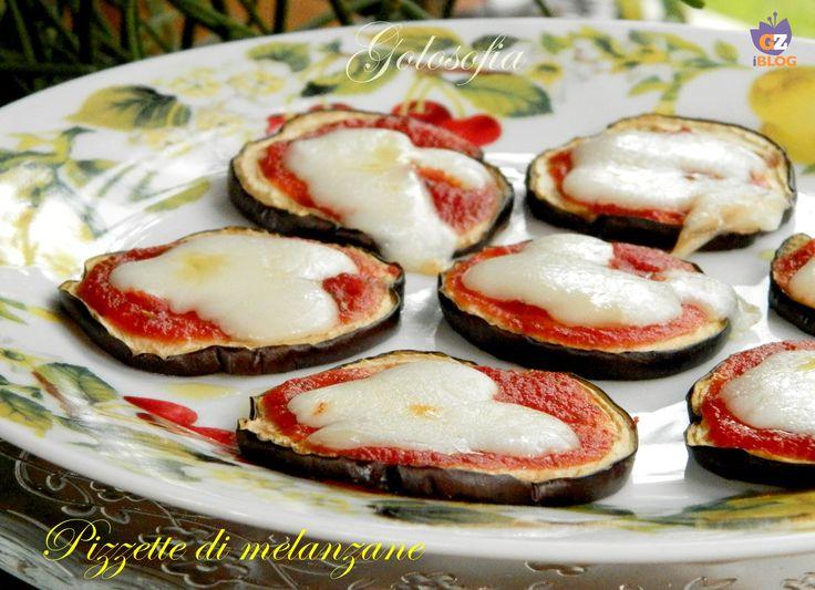 Pizzette di melanzane-ricetta contorni-golosofia