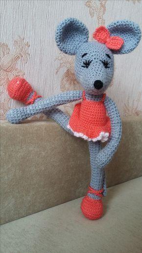мышка балерина амигуруми схема вязания амигуруми схемы
