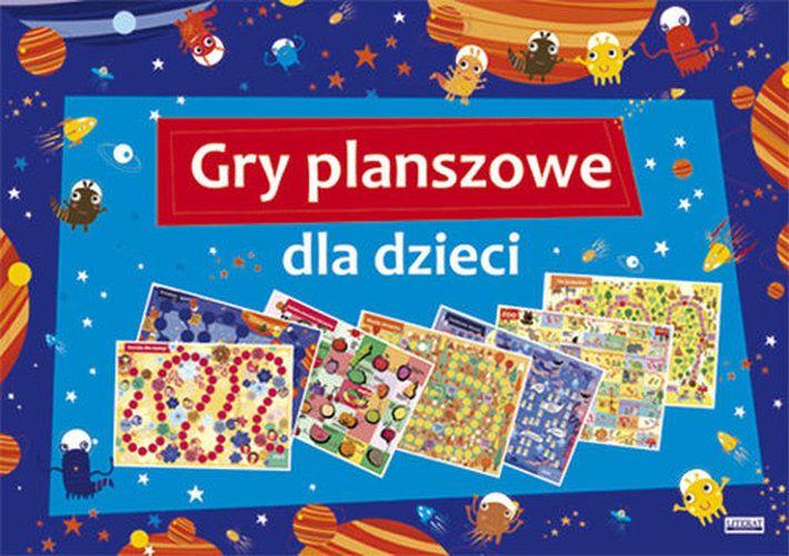 Gry planszowe dla dzieci - Zabawki