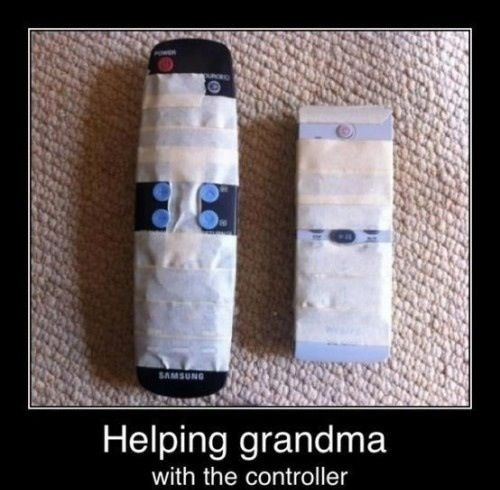 Simplifying the remote for Grandma