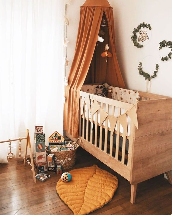 Mobile Bebe Ocre Mobile Nuage Taupe Cafe Blanc Beige Ochre The