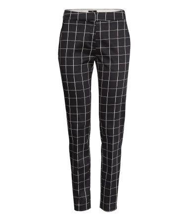 Windowpane slacks - trousers | H&M US Spring 2014