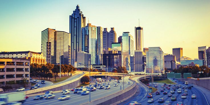 Atlanta is one of the main hubs for travel in the US, having the busiest  airport in the world. That being said, if you are traveling here for work,  here are 5 must-sees when stopping by this historical city of  transportation. And don't forget the camera!     Centennial Olympic Park  This