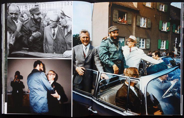 Berlin, Staatsbesuch von Fidel Castro, 1972, by Thomas Billhardt