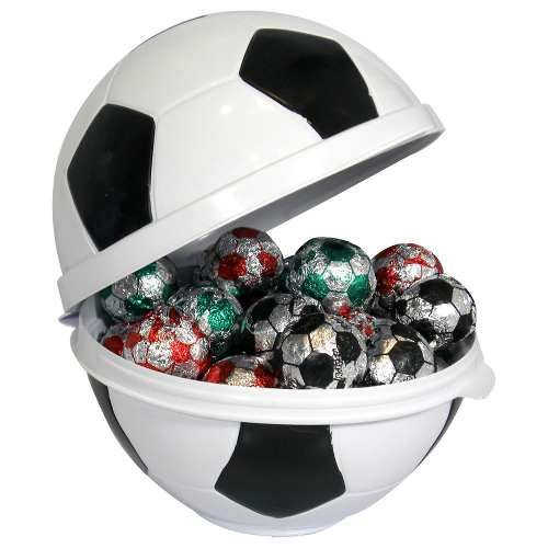 Lembrancinha Festa Futebol - Embalagem Em Formato De Bola