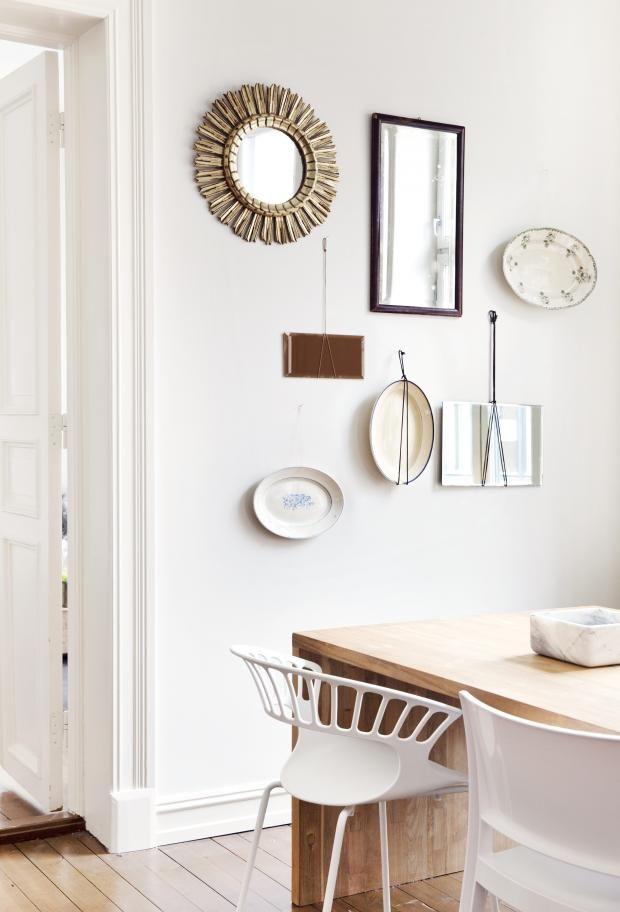 DIY from old plates  kkliving.no Styling Tone Kroken Pic by Yvonne Wilhelmsen