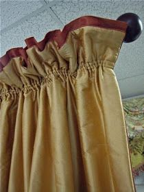 Leatherwood Design Co: Shirred Top Drapery