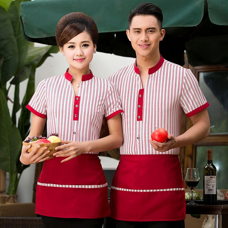 >> Click to Buy << Fast food service staff summer hotel restaurant men and women overalls shorts hotel restaurant catering waiter clothing #Affiliate
