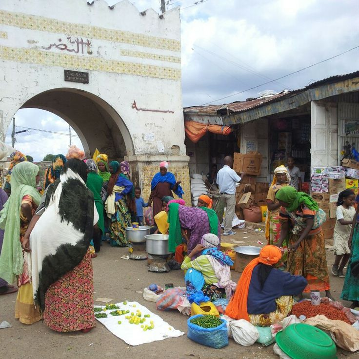 Shoa gate in Harar