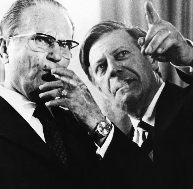 Der geschätzte Staatsgast: Tito trifft Bundeskanzler Helmut Schmidt 1974 in Bonn