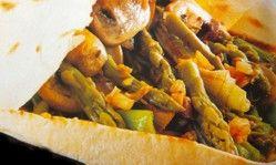Pita vegetal - Receta
