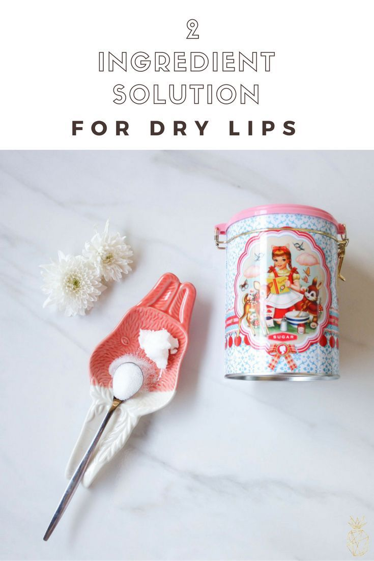 how to fix really dry lips