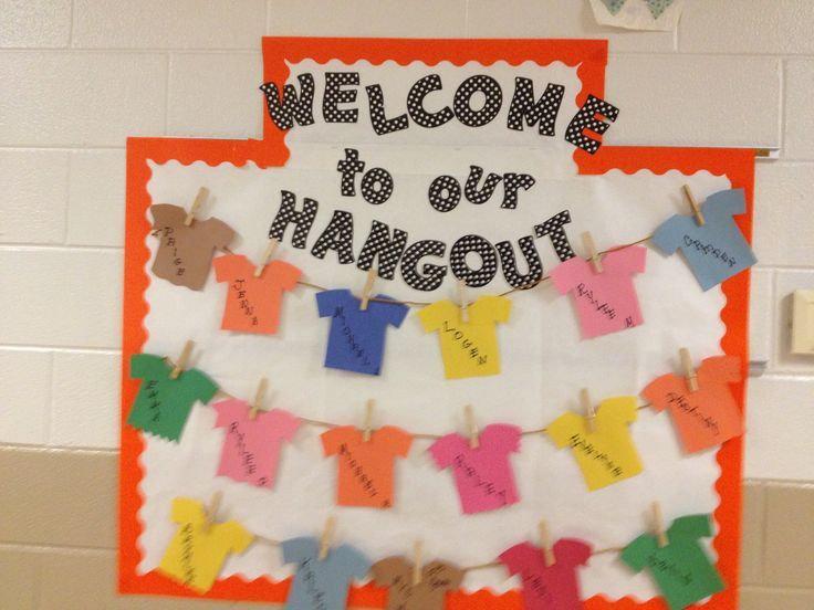 free welcome back to school bulletin boards | Welcome back bulletin board
