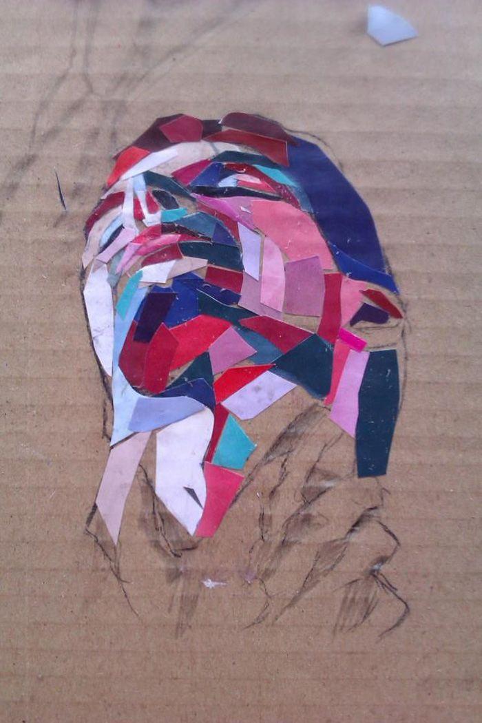 Dimosthenis Prodromou   Exploring the Human Form in Collage inspiration