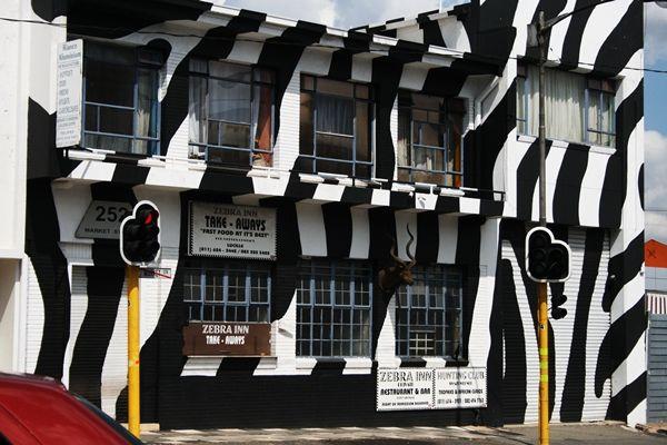 Zebra Inn, carnivore restaurant, Jeppestown, Jozi