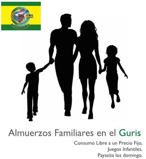 Almuerzo en Familia en el Guris, Siempre tenemos juegos infantiles, y los Domingos con Payasita.