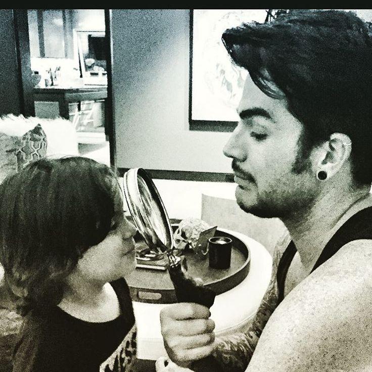 Adam Lambert and his godson, Riff | Source: Adam Lambert instagram