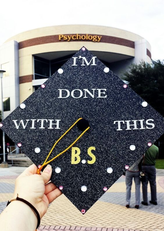 41 Ways to Customize Your Graduation Cap | http://www.hercampus.com/diy/crafts/41-ways-customize-your-graduation-cap
