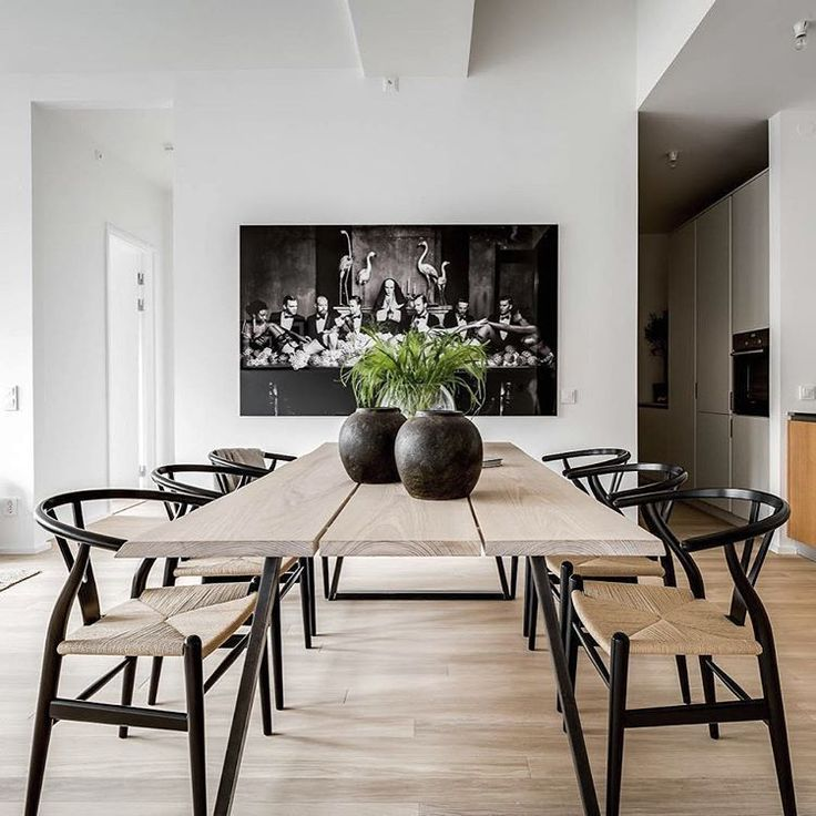 50 The Best Wood Dining Table Design That Trend Today