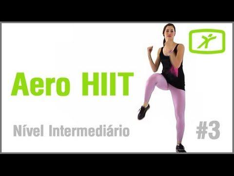 Perder Medidas e Definir o Corpo com nossa Aula de Aero HIIT#3 - Interme...